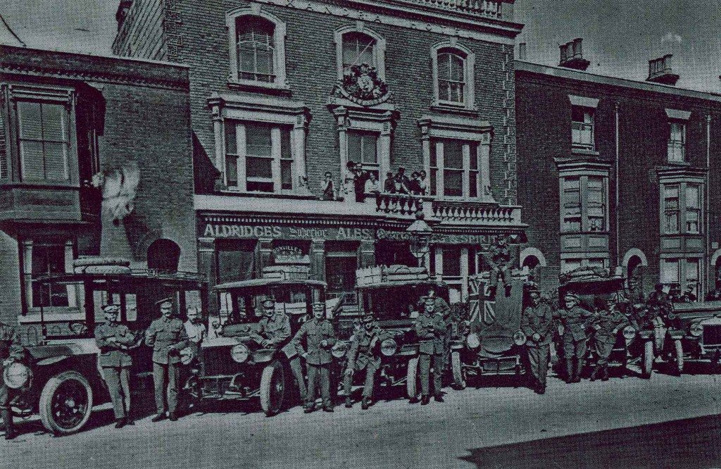 The Front of the Alex - Early 1900